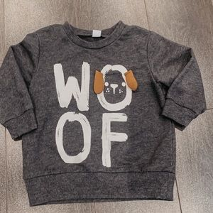 Other - Woof Sweater 12m 🐶